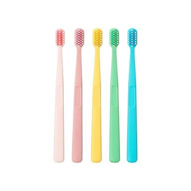 Paquete De Cepillos Dentales Cabeza Ancha Multicolor 5 Piezas