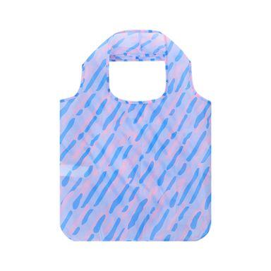 Bolsa De Compras Plegable Azul 11.8X6.3X3.4CM