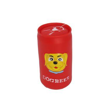 Juguete Para Mascota Lata Con Sonido Rojo