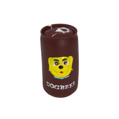 Juguete Para Mascota Lata Con Sonido Café
