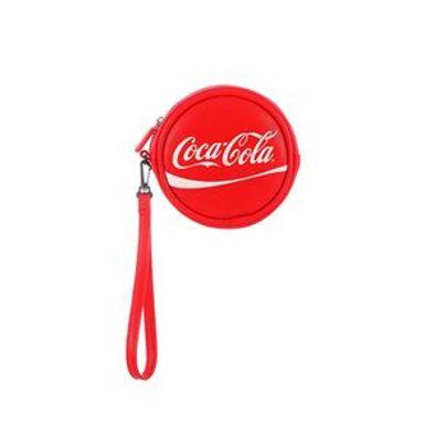 Monedero Redondo Coca Cola Rojo 11.7X12.7X5.8CM