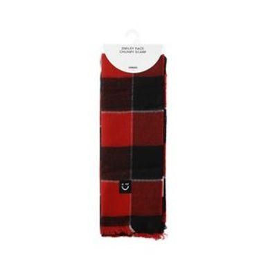 Bufanda Para Mujer A Cuadros Roja 184X64CM