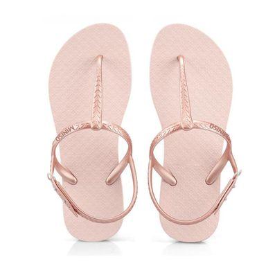 Sandalias Clásicas Para Mujer Rosa 37-38CM