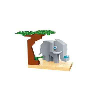 Bloques De Construcción Elefante 11.5X10X8CM 86 Piezas