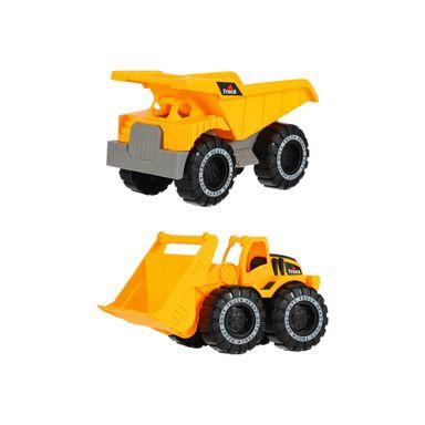 Vehículos De Construcción De Juguete 2 Piezas