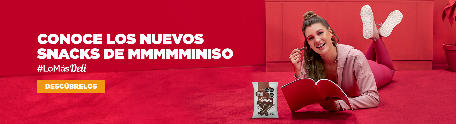 Snacks en Miniso